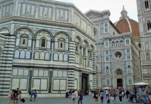 Picture of Florence for virtual tour of Italy