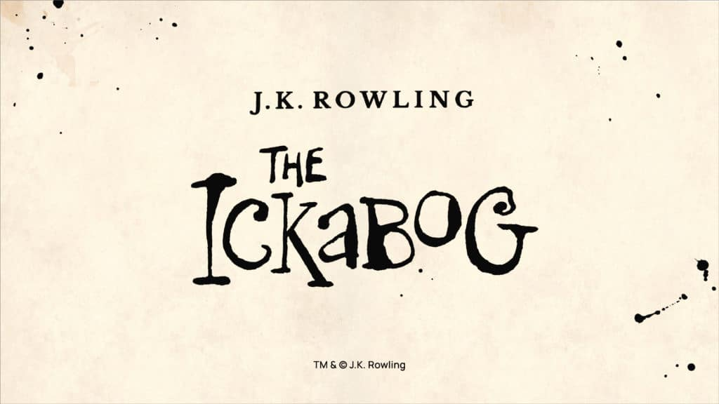 J. K. Rowling's The Ickabog title