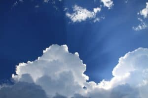 Learn the different types of clouds - image of clouds.